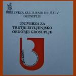 Poročilo o delu Univerze za tretje življenjsko obdobje Grosuplje v študijskem letu 2018/2019